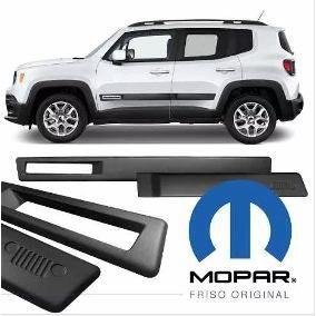 Jogo Friso Lateral Jeep Renegade - MOPAR Original - PRODUTO INSTALADO