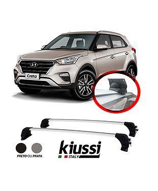 Kit Longarina Hyundai Creta Pcd -  Funcional + Travessa Rack Teto Bagageiro Kiussi