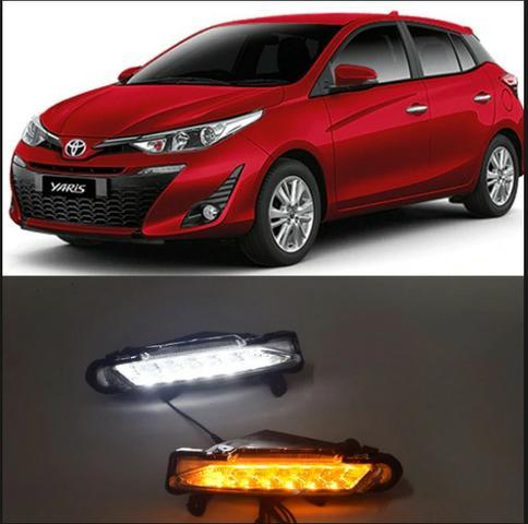 Luz Diurna Drl Daylight Led Toyota Yaris
