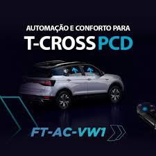 Módulo Interface Subida De Vidros VW Tcross - Faatech - A FT-AC-VW1