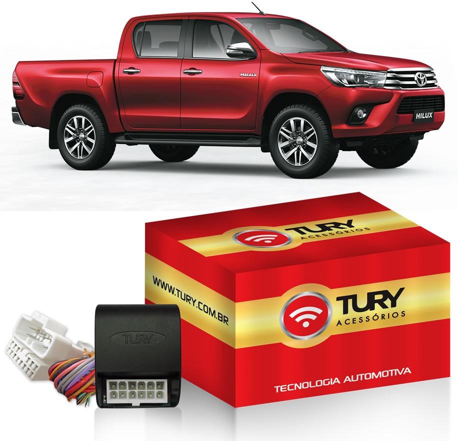 Módulo Subida de Vidro Toyota Hilux SRX 2016 á 2020 Tury Com Anti - esmagamento