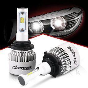 Kit Lâmpada Ultra LED - 6.000K ( Branco )  - Sistema Cam Bus 8.000 lumes -  Efeito Xenon H1 H3 H4 H7 H11 H27 HB4 HB3