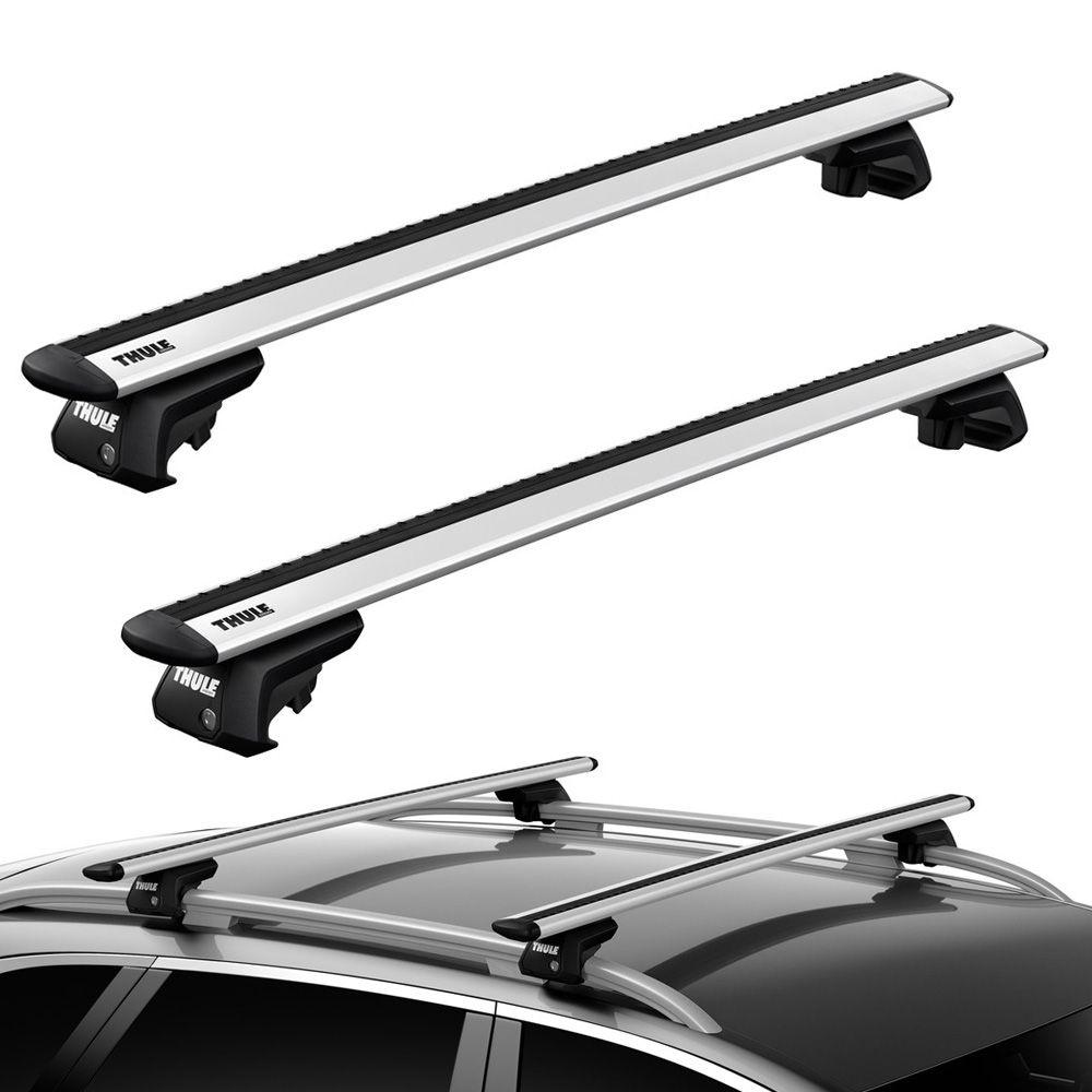 Rack Thule WingBar Evo Ponto Fixação / Longarina - Aluminio