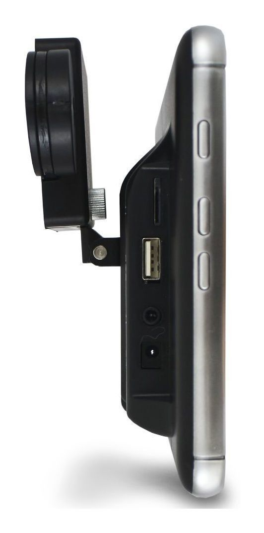 """Tela para Encosto De Cabeça Slim -  Sobrepor Htech Tela 8"""" Pol Full HD - Touch USB / SD-card Bluetooth Espelhamento Android"""