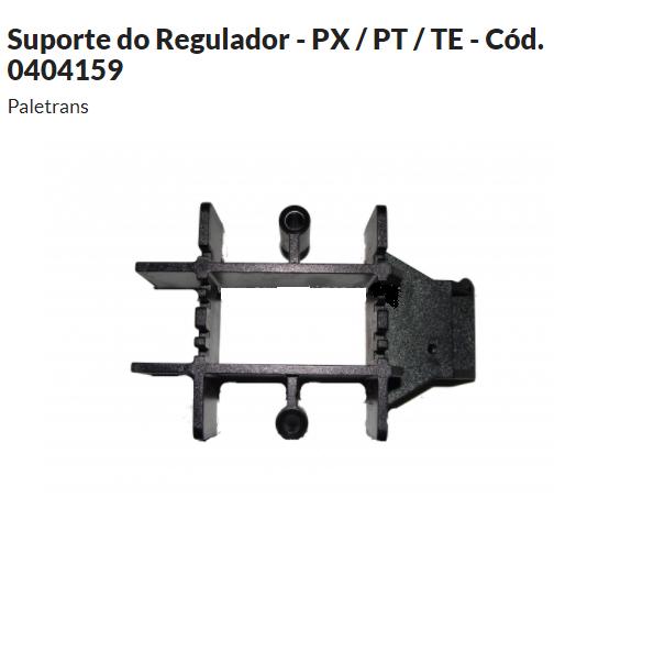 Suporte do Regulador  de Potencia Paletrans - PX / PT / TE - Cód. 0404159
