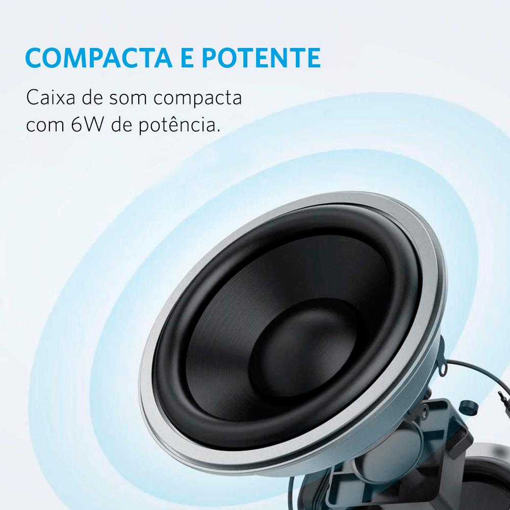 Caixa de Som Anker SoundCore Mini 2 Bluetooth Cod. 11134136