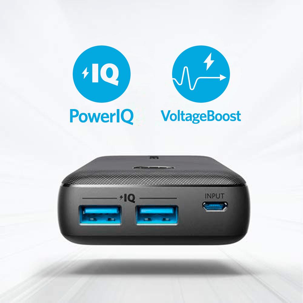 Carregador Portátil Anker 10.000mAh PowerCore Select | Preto  Cod. 11150537