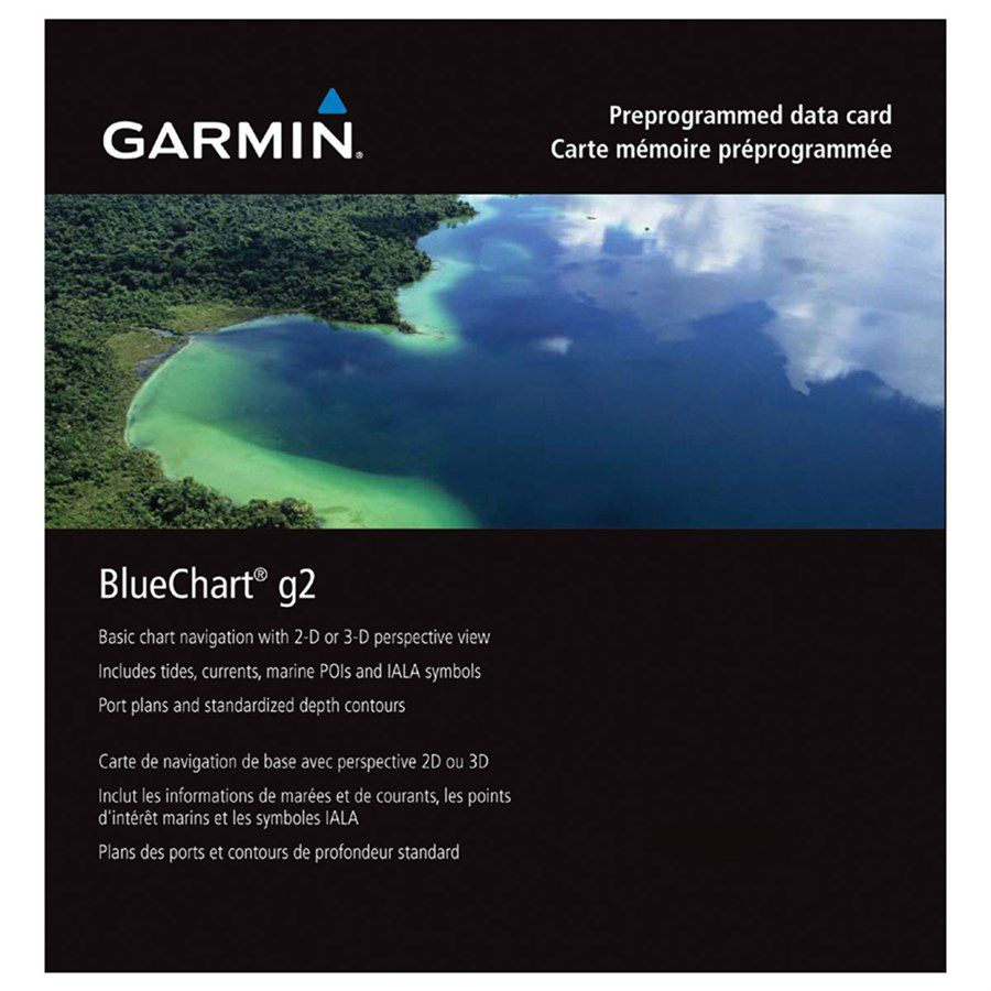 Carta Nautica GARMIN BLUECHART® G2 HD Costa leste da America do Sul 010-C1062-20
