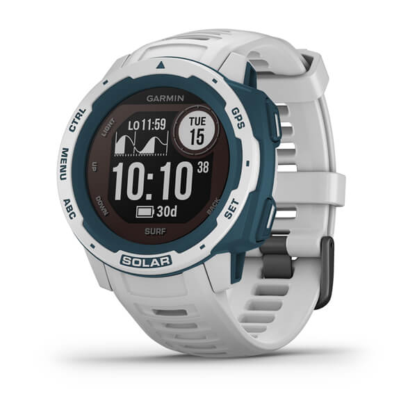 Smartwatch GPS Garmin Instinct Surf Solar Branco 010-02293-08