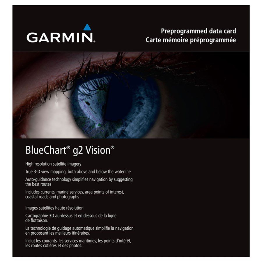 Garmin Carta Náutica Bluechart G2 Vision HD - Costa Leste da América do Sul - 010-C1062-00