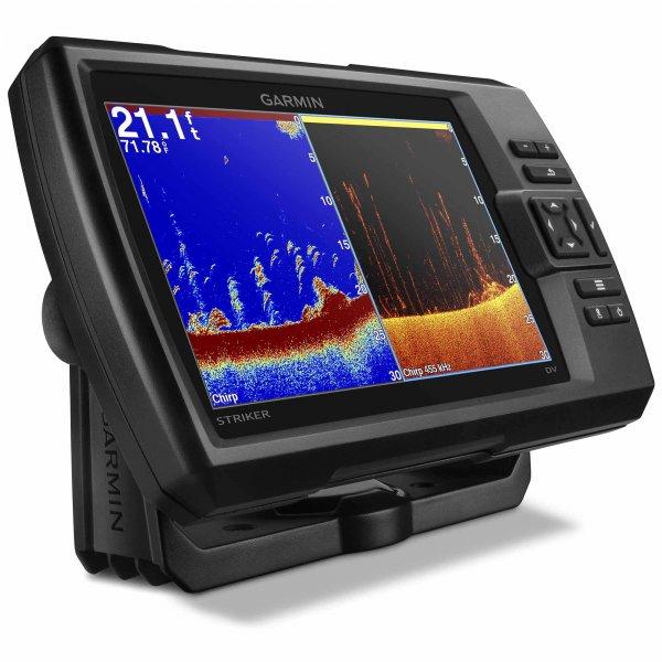 Gps Sonar Garmin Striker 7dv /cv