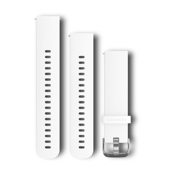 Garmin Kit Pulseira Branco para Forerunner 245 / 645 / VivoActive / Venu 010-12561-04