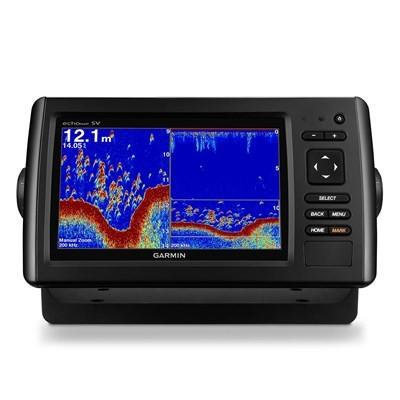 GPS Garmin Nautico ECHOMAP 72SV CHIRP - COM TRANSDUCER DE POPA 010-01574-01