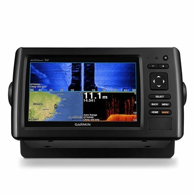 GPS Garmin Nautico EchoMAP 72SV CHIRP - Com Transdutor de Popa 010-01574-01