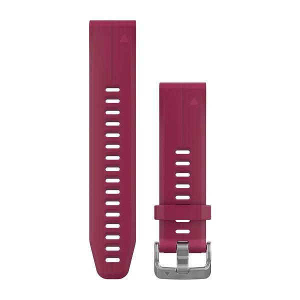 Garmin Pulseira Silicone Cereja para Fenix 5s/6s D2 Delta S 010-12739-05