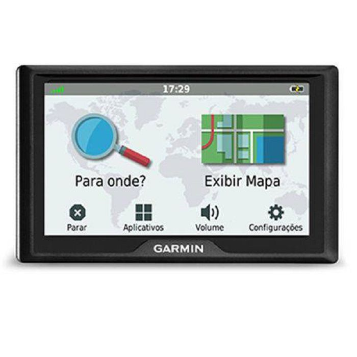 GPS Garmin Automotivo Drive 51 010-01678-6M Autorizada Garmin