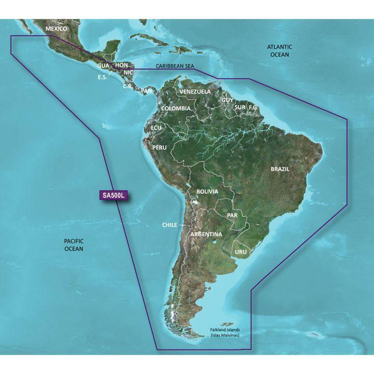 Gps Garmin EchoMap 52Cv Chirp com transdutor e carta nautica Brasil 010-01813-02