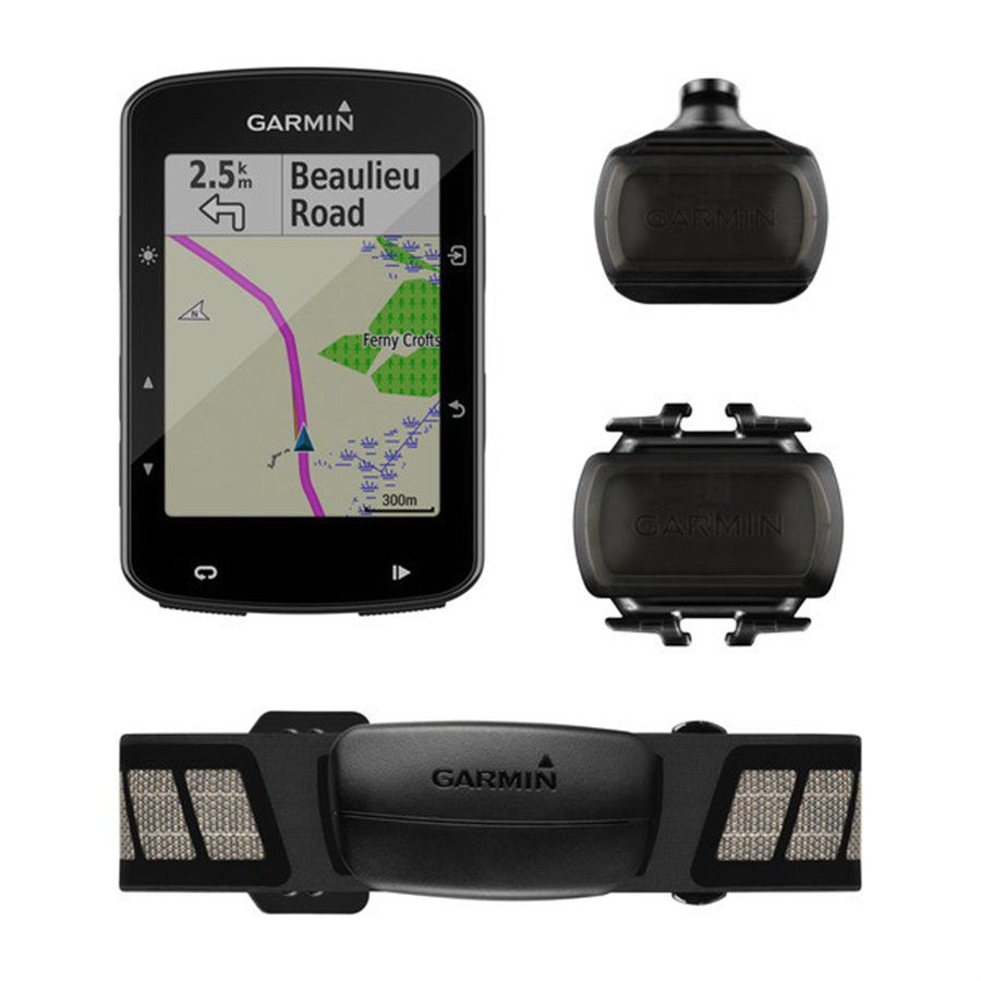 GPS Garmin Edge 520 Plus Bundle completo Autorizada Garmin