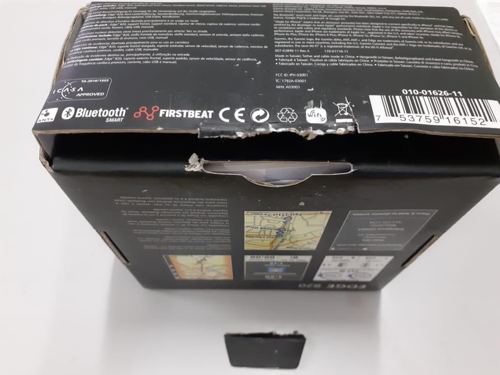 Gps Garmin Edge 820 Bundle  010-01626-11