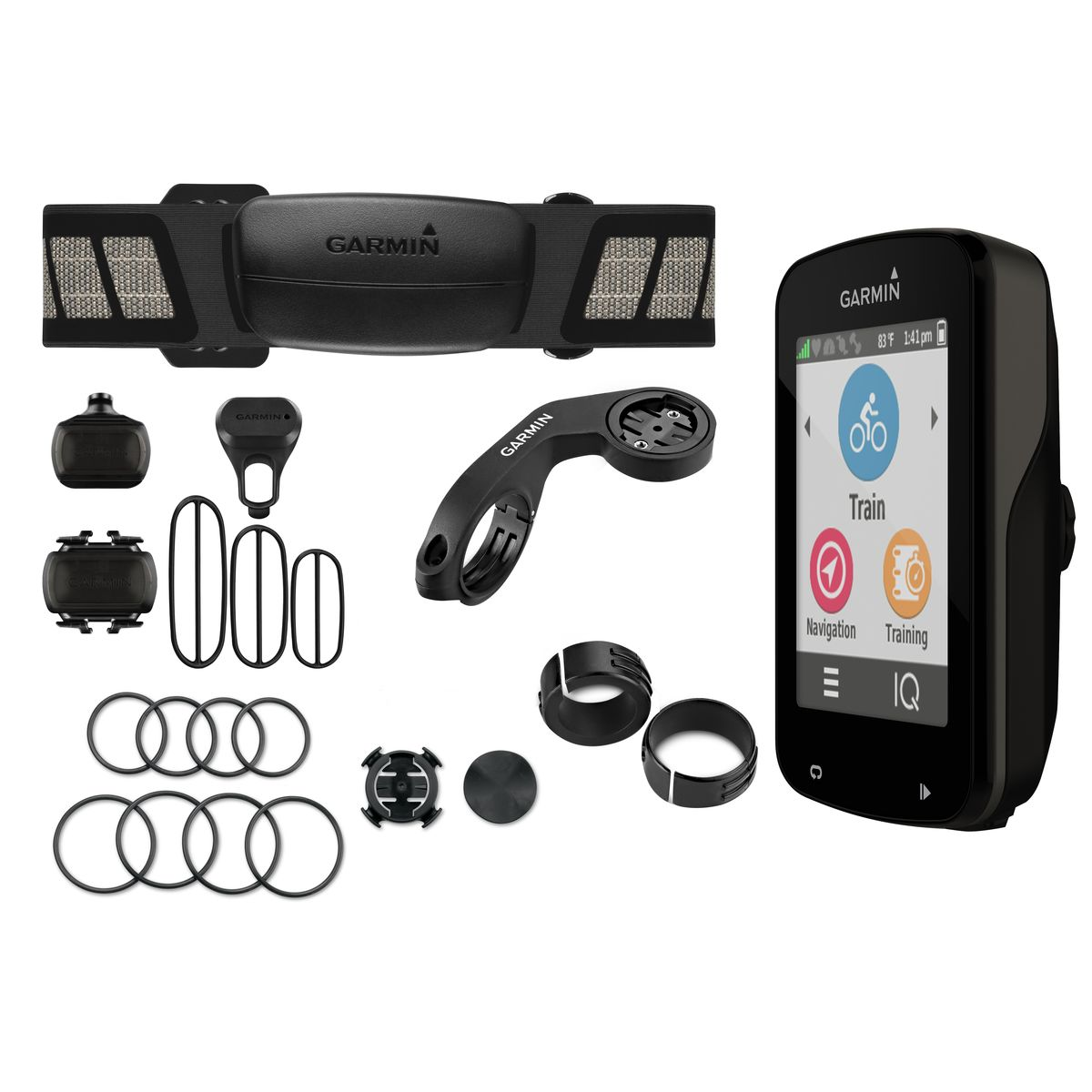 Gps Garmin Edge 820 Bundle Brinde Pelicula + Kit Luz Bike