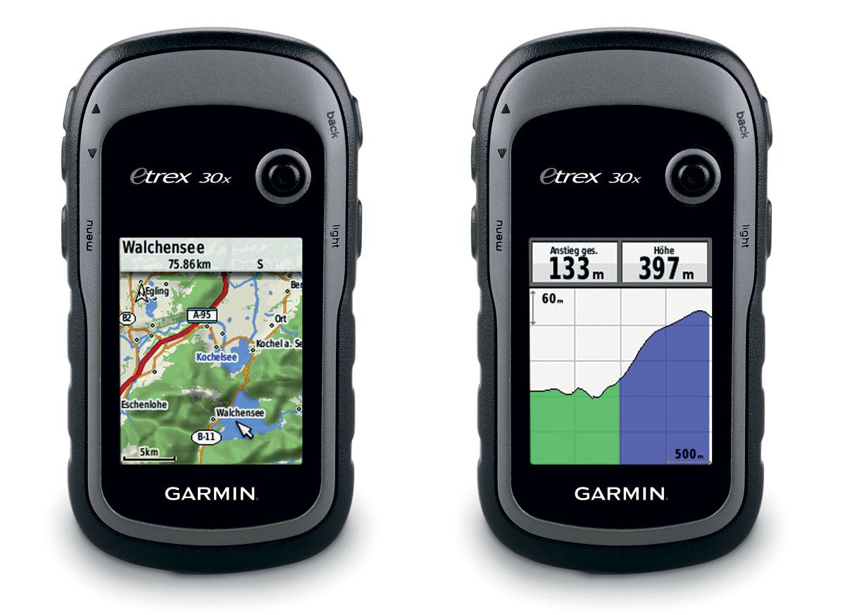 Gps Garmin Etrex 30x com Mapas Rodoviario e Topografico 010-01508-10