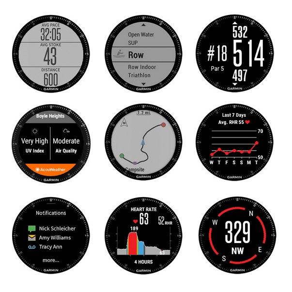 GPS Garmin Fenix 3 Safira Hr Batimentos Pulso Cinta Hrm-run