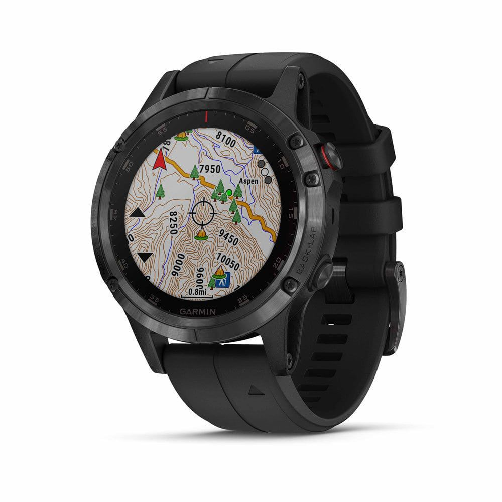 Smartwatch GPS Garmin Fenix 5 Plus Preto tela Safira 010-01988-01
