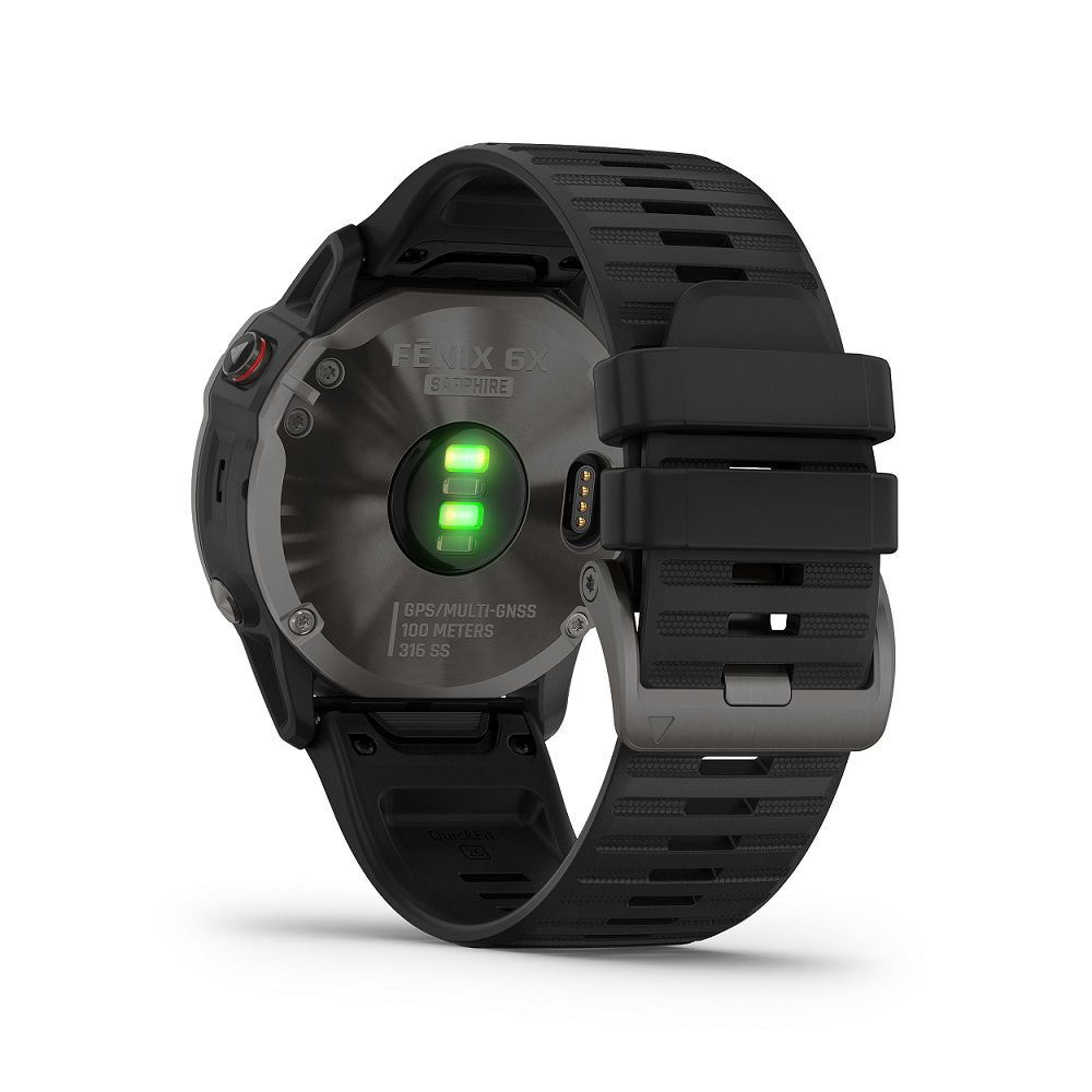 Smartwatch Gps Garmin Fenix 6x Pro Cinza Carbono Safira 010-02157-19