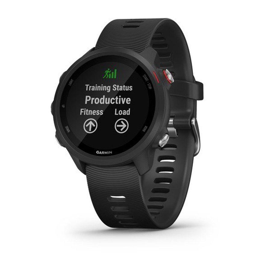 Relogio GPS Garmin Forerunner 245 Music Preto/vermelho 010-02120-30 Autorizada Garmin