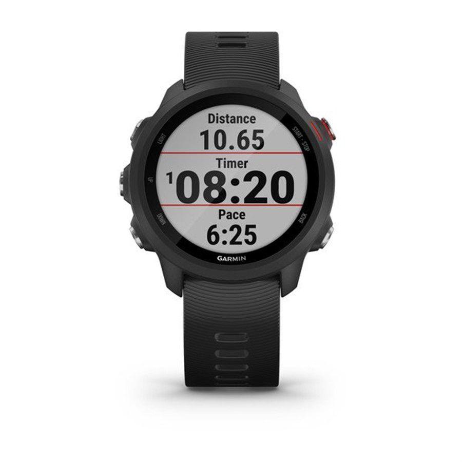 Smartwatch GPS Garmin Forerunner 245 Music Preto/vermelho 010-02120-30