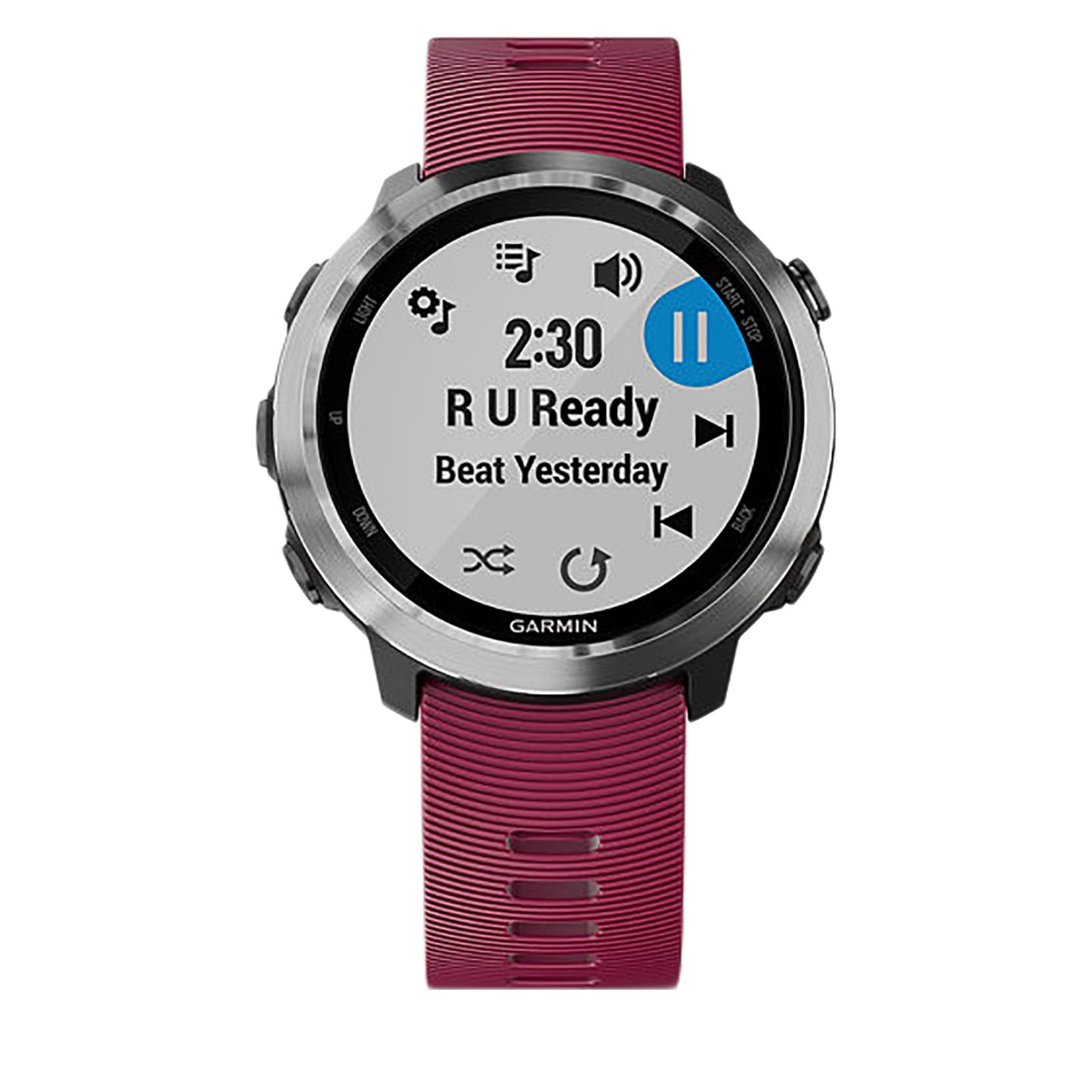 Smartwatch GPS Garmin Forerunner 645 Music Cereja - 010-01863-31