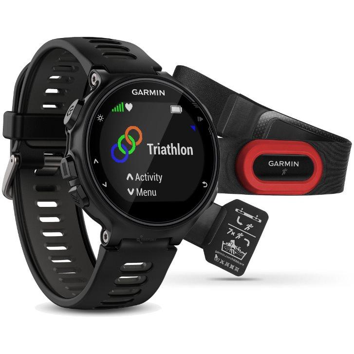 Smartwatch GPS Garmin Forerunner 735xt Preto 010-01614-15