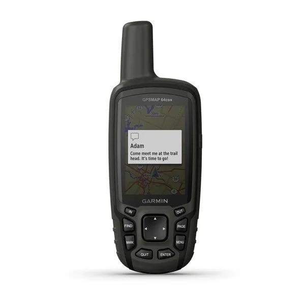GPS Portátil Garmin 64csx  Mapa TopoActive América do Sul  Conexão via BLUETOOTH e ANT+ Câmera de 8MP 010-02258-24