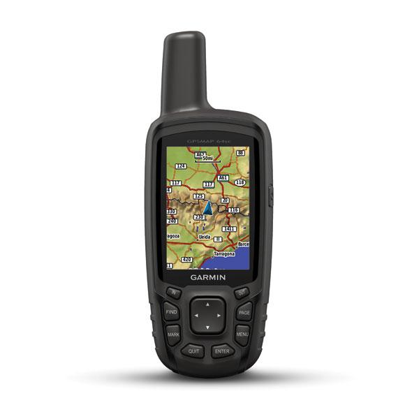 Gps Garmin MAP 64SC Com Camera Digital de 8 MP Brindes Mapa rodoviario Brasil + Topografico Brasil + Carta Nautica Brasil
