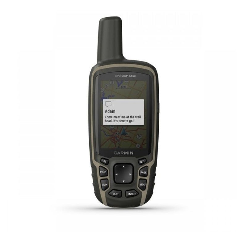 GPS Portátil Garmin GPSMAP 64sx Mapa TopoActive América do Sul  Conexão via BLUETOOTH e ANT+ 010-02258-14