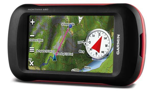 GPS Garmin Montana 680 brinde Mapas Rodoviario e Topografico 010-01534-10