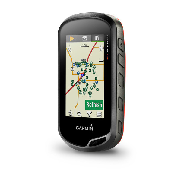 Gps Garmin Oregon 750 Wifi Brinde Mapa Rodoviario e Topografico 010-01672-20