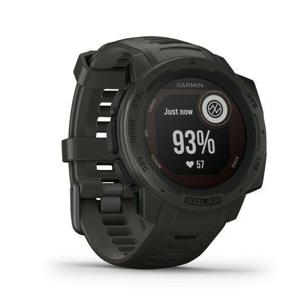 Smartwatch GPS Garmin Instinct Solar Grafite 010-02293-00