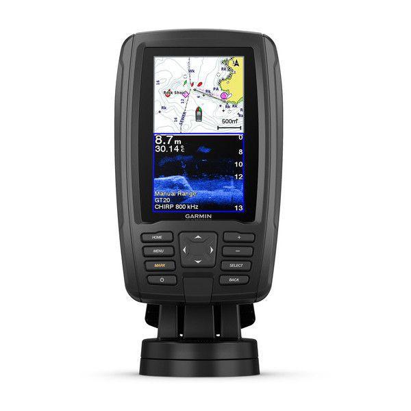 Gps Sonar Garmin Echomap 42CV Plus 010-01884-00 + Kit Portatil (Transdutor, Bateria e Bolsa) 010-12462-00