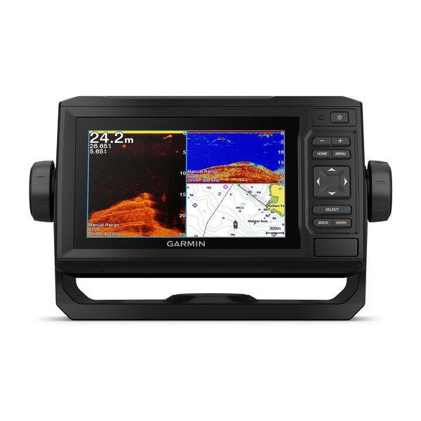 Gps Sonar Garmin Echomap 62CV Plus Sem Transdutor 010-01888-00 Autorizada Garmin