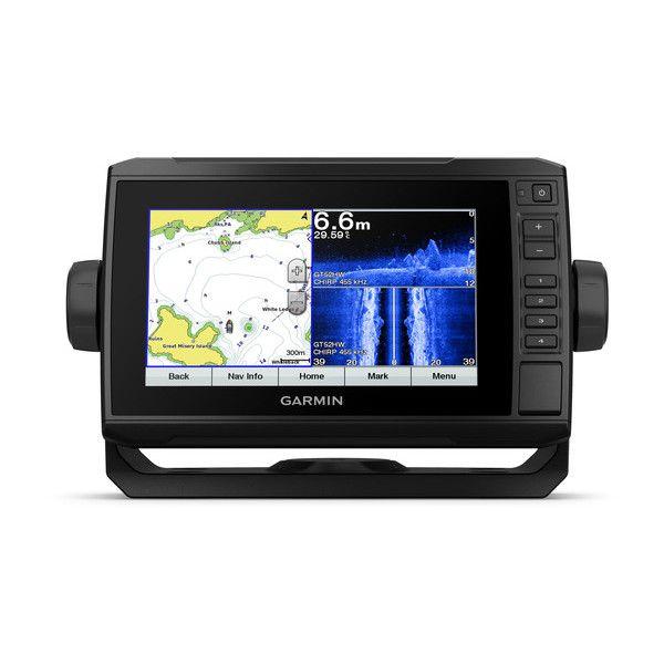 Gps sonar Garmin Echomap 72SV Plus com Transdutor GT52HW-TM Mapa MUNDI 010-01896-01