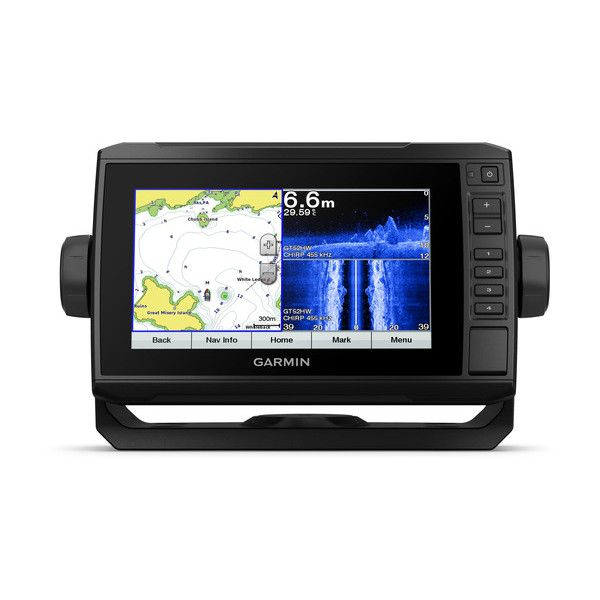 Gps Sonar Garmin Echomap 73cv Plus com transdutor + Carta Nautica 010-01893-01