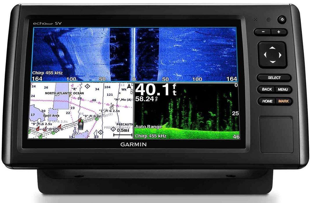 Gps Sonar Garmin EchoMap 94sv Plus com Transdutor  GT51M-TM e Carta Náutica 010-01902-05