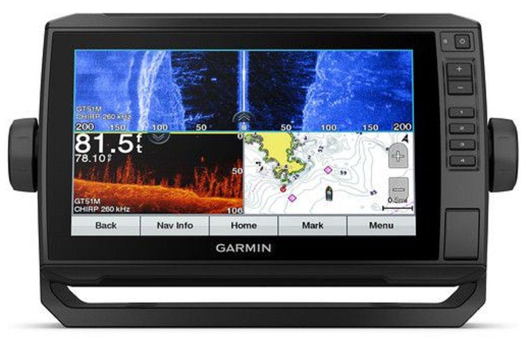 Gps Sonar Garmin EchoMap 94sv com Transdutor e Carta Náutica 010-01580-00