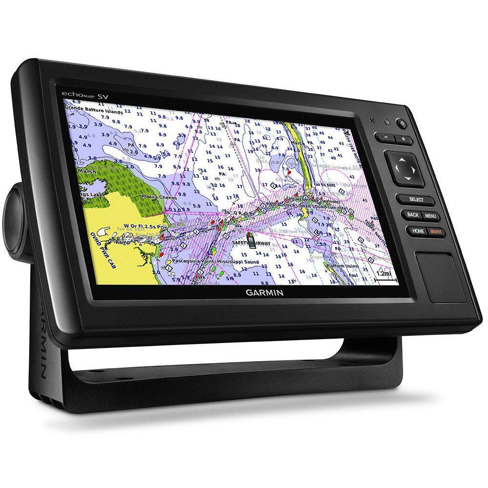 Gps Sonar Garmin EchoMap 94sv Plus com Transdutor  GT51M-TM e Carta Náutica G2 Vision 010-01902-05
