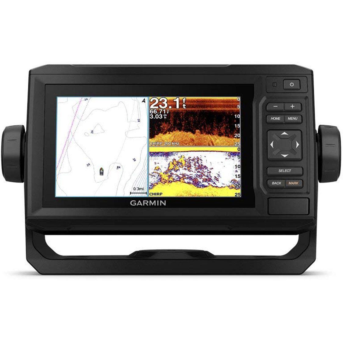 Gps Sonar Garmin Echomap Plus 64cv + Transdutor Gt20-tm 8 Pinos 010-01890-00