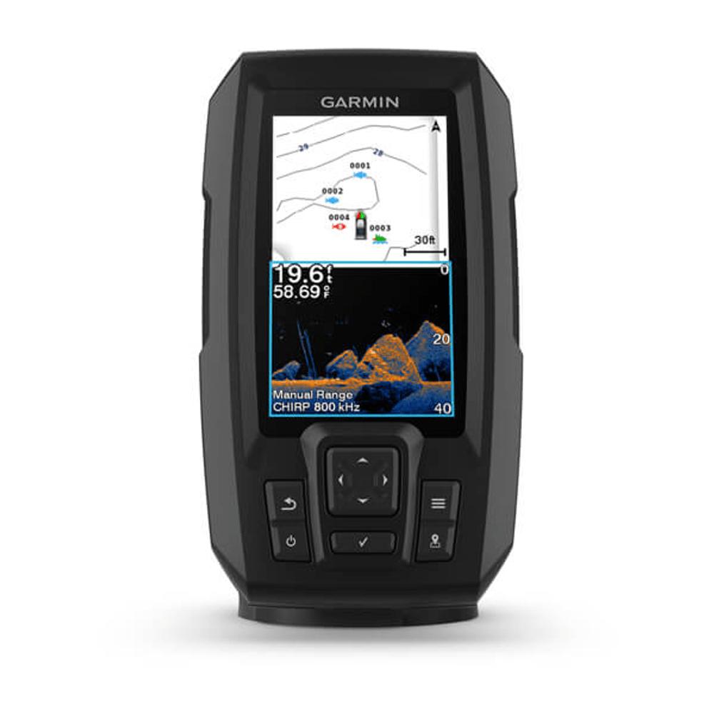 Gps Sonar Garmin Striker 4CV Vivid com Transdutor 010-02550-01
