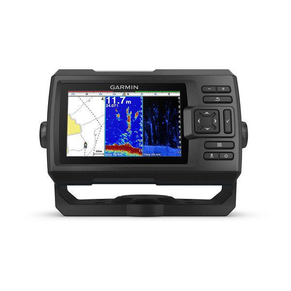 Gps Sonar Garmin Striker 5CV Plus com Transdutor GT20-TM - 010-01872-01