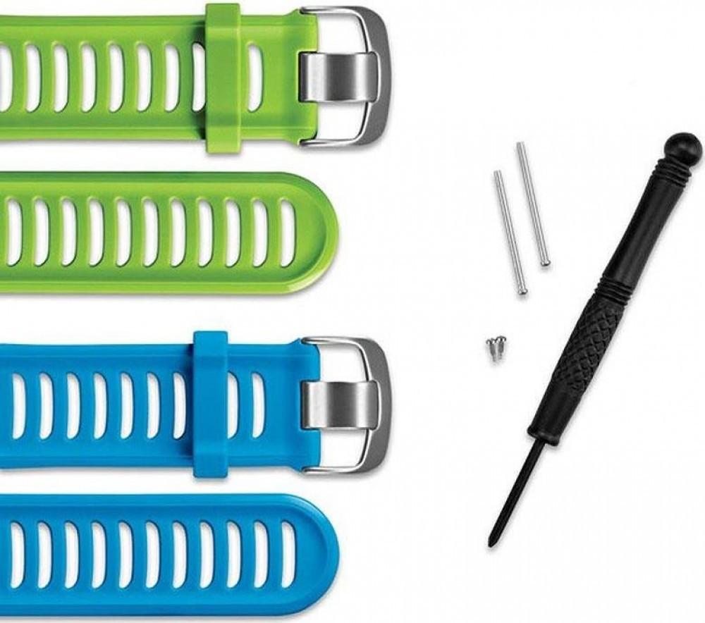 Kit Pulseira Garmin Forerunner 910xt Verde Azul 010-11251-23