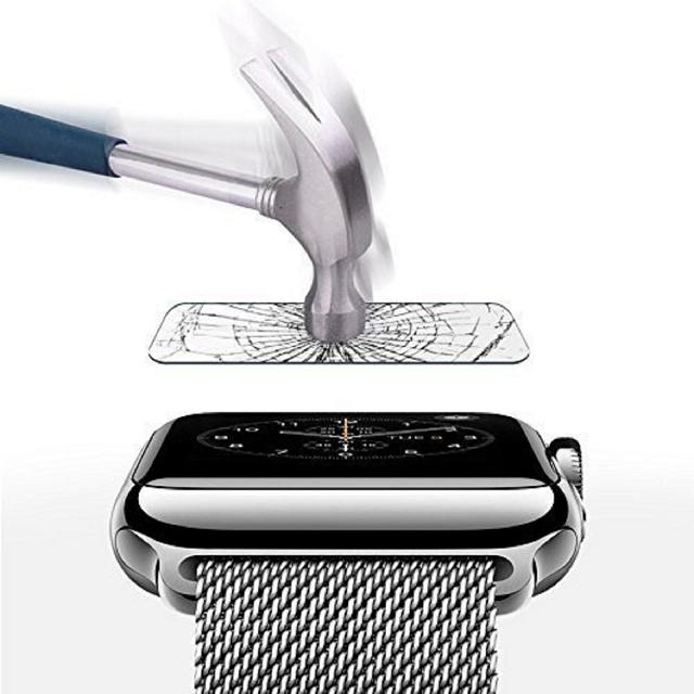 Pacote com 2 protetores de tela de vidro temperado - MagicShieldz premium - Apple Watch Série 4